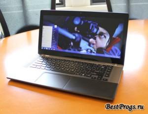 Toshiba анонсировала первый в мире ноутбук с ультрашироким экраном   novinki it industrii
