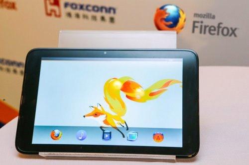 Представлен первый планшет на базе Firefox OS   novinki it industrii